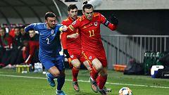 Bale juega una hora ante Azerbaiyán y Gales vence