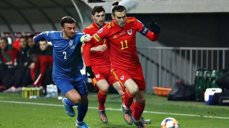 El atacante Gareth Bale, que no juega con el Real Madrid desde el 5 de octubre, participó durante una hora en el encuentro que Gales jugó frente Azerbaiyán, en Baku, clasificatorio para la Eurocopa 2020.