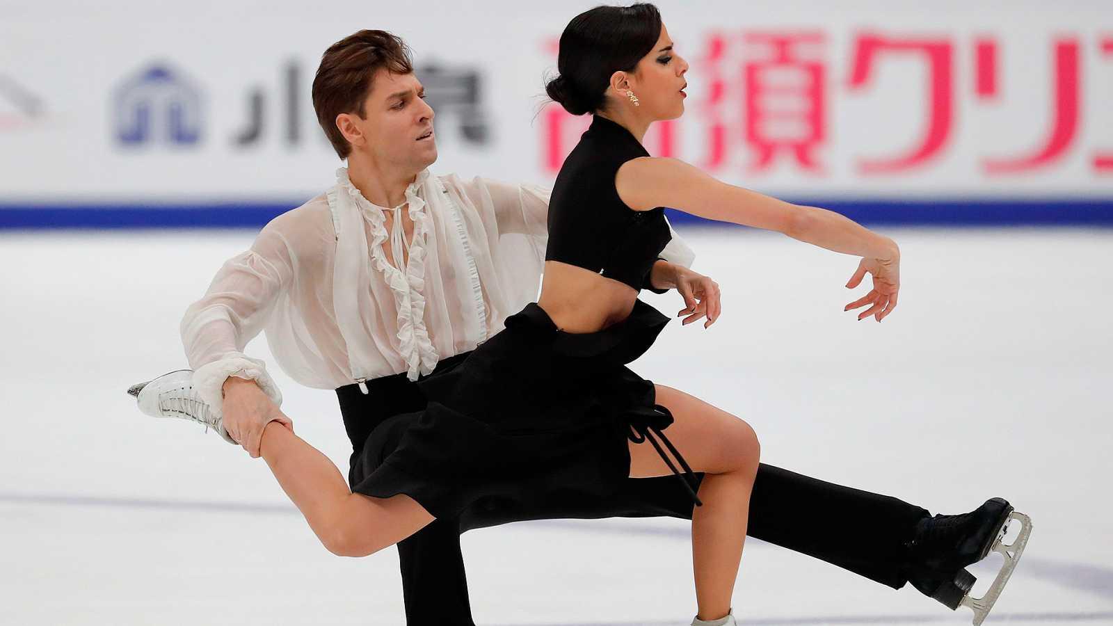 La pareja española formada por Sara Hurtado y Kirill Jalyavin han logrado un nuevo éxito en la Rostelecom Cup rusa, al alzarse con la medalla de bronce. Después de la plata del año pasado en la misma prueba, la pareja se consolida como una de las par