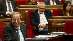 """Torra: """"Ya votamos no al señor Sánchez, porque nosotros no votaremos nunca a cambio de nada"""""""