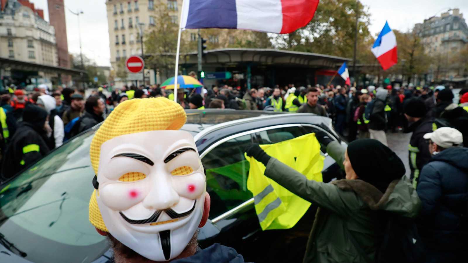El movimiento de protesta de los 'chalecos amarillos' cumple un año