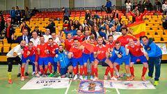 España gana el Mundial de fútbol sala para sordos