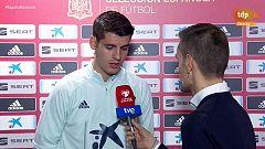 """Morata: """"El trabajo es el secreto de mi racha"""""""
