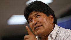 """Morales hace un llamamiento a """"España o Zapatero, experto en mediación, o Pepe Múgica u otros gobiernos a la mediación para la pacificación"""""""