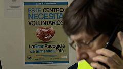 Los bancos de alimentos preparan su gran recogida y para ello necesitan la colaboración de los voluntarios