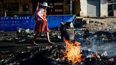 Al menos 23 muertos y más de 150 heridos en los disturbios de Bolivia