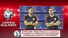 Fútbol - Programa Clasificación Eurocopa 2020 Previo: España - Rumanía