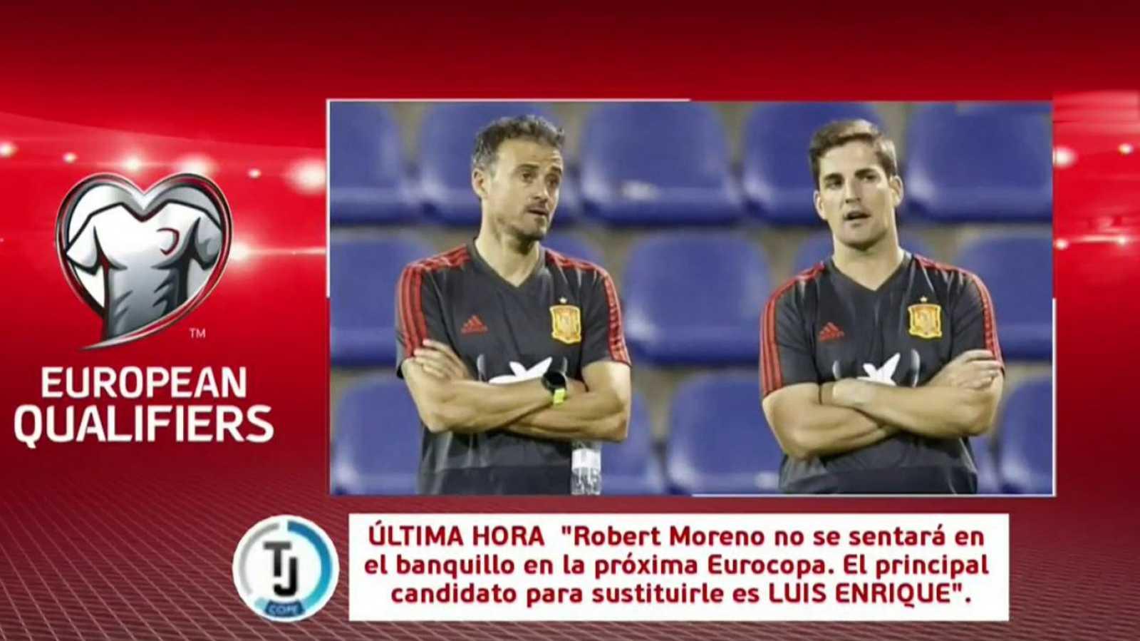 Fútbol - Programa Clasificación Eurocopa 2020 Previo: España - Rumanía - ver ahora