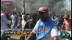 Las protestas en Haití preocupan a los vecinos