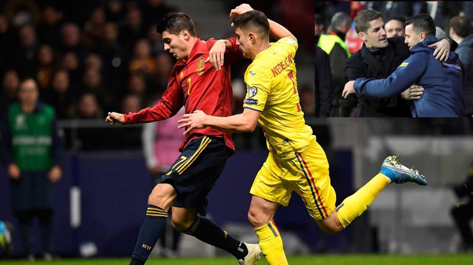 Programa Clasif. Eurocopa 2020 Postpartido: España - Rumanía