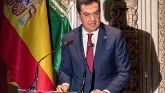 """El presidente andaluz siente """"vergüenza"""" por la sentencia de los ERE"""