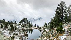 Heladas localmente fuertes en Pirineos