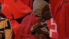 Evacuados 81 migrantes a Melilla tras quedar atrapados por el temporal en Chafarinas