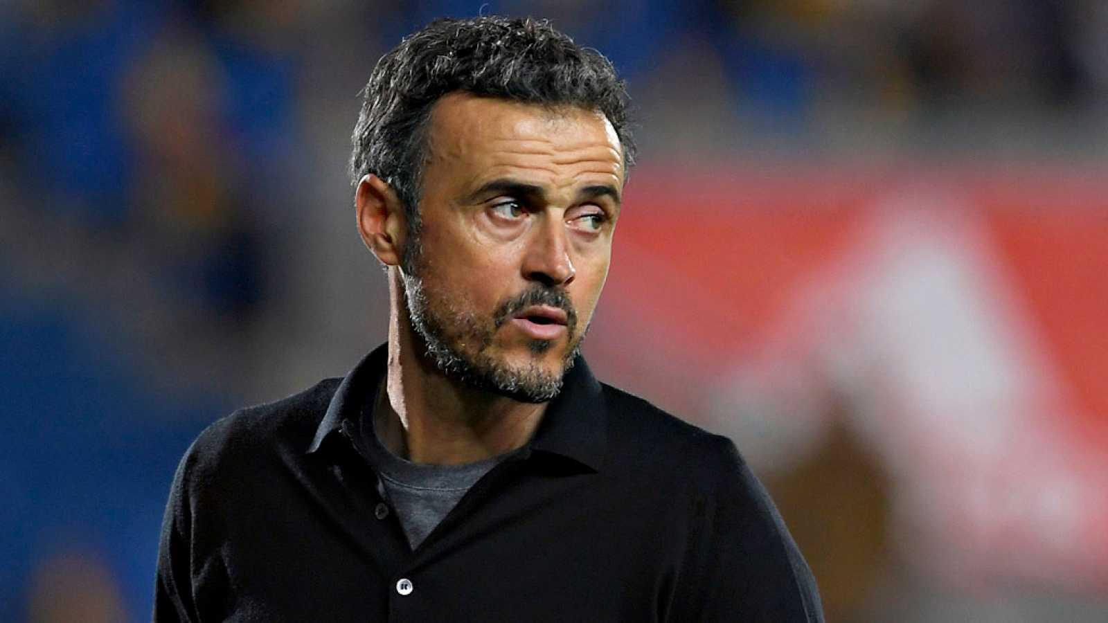 Luis Rubiales, presidente de la Real Federación Española de Fútbol (RFEF), ofreció un relato cronológico de los hechos que han acabado con el regreso de Luis Enrique Martínez al cargo de seleccionador y la salida de Robert Moreno.