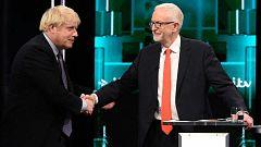 El primer cara a cara entre Johnson y Corbyn se salda con más reproches por el 'Brexit'