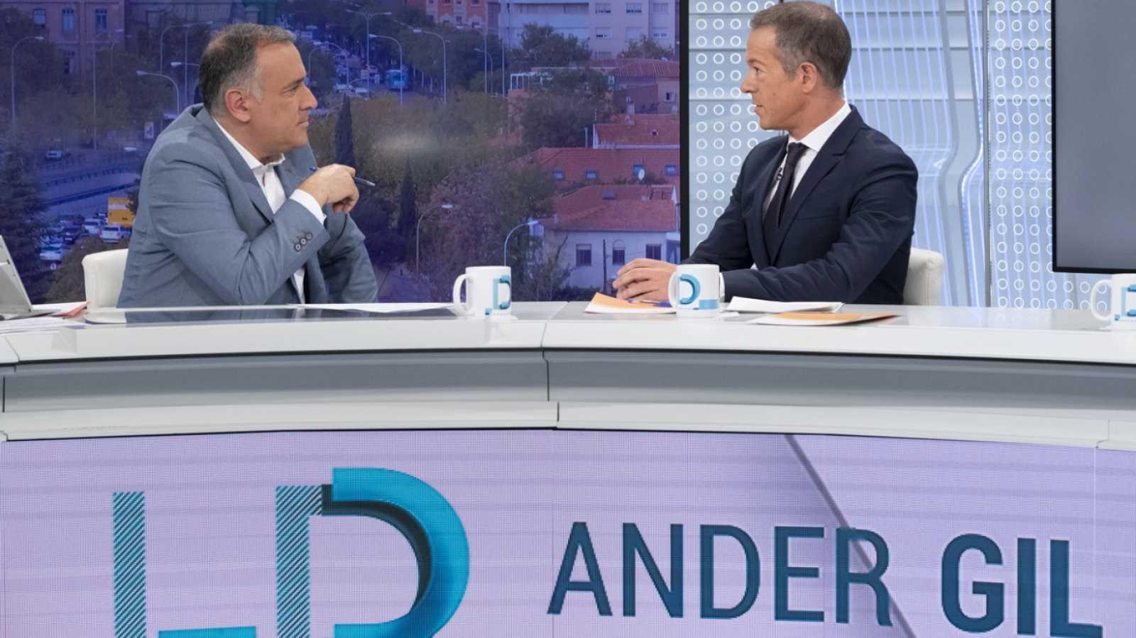 Los desayunos de TVE - Ander Gil, portavoz del PSOE en el Senado  - ver ahora
