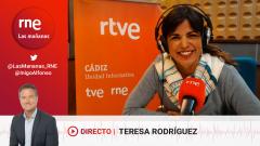 Las mañanas de RNE con Íñigo Alfonso - Teresa Rodríguez se pasa la parada del bus