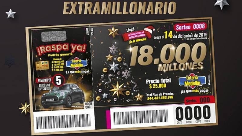 En Colombia un solo acertante se lleva los 5 millones de euros del sorteo extraordinario de Navidad