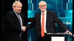 Polémica por el cambio de nombre del Twitter del Partido Conservador durante un debate electoral