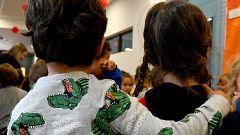 Pijamas en los colegios para concienciar sobre la necesidad de familias de acogida
