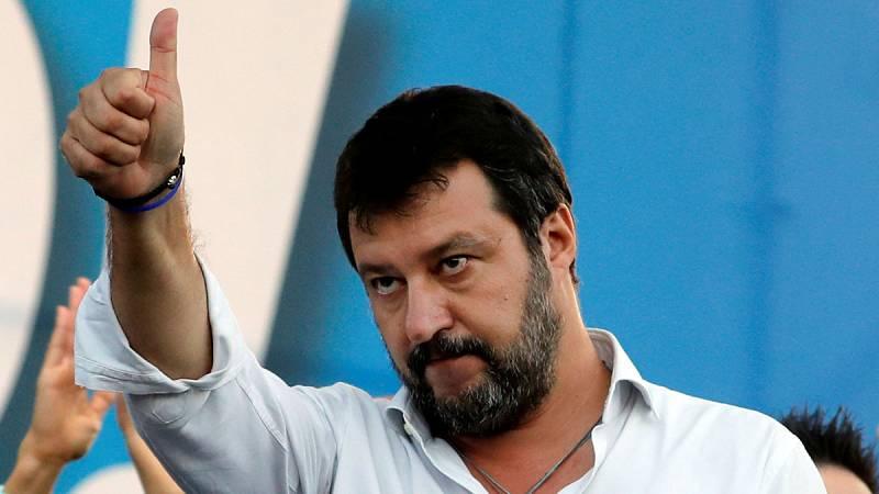 Las 'Sardinas' plantan cara a Salvini y la Liga