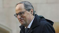 Torra descarta un adelanto electoral en Cataluña a día de hoy