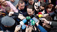 """Iglesias, """"optimista"""" sobre las negociaciones para formar un nuevo Gobierno"""