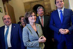 """Calvo no descarta la mesa de negociaciones solicitada por ERC: """"Es una oportunidad para las fuerzas progresistas"""""""