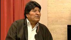 """Evo Morales ve """"con buenos ojos"""" la convocatoria de elecciones en Bolivia aunque """"no se presentaría"""""""