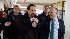 PSOE y Unidas Podemos continúan las negociaciones de Gobierno pendientes de lo que diga la militancia