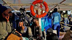 Siguen los rescates de inmigrantes en el Mediterráneo Central