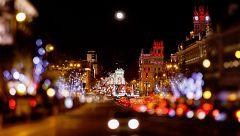 Vigo y Madrid rivalizan por la iluminación navideña