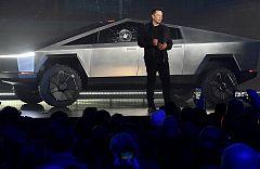 El nuevo vehículo 'indestructible' de Tesla se rompe en su presentación
