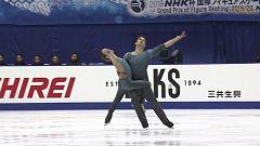 Patinaje artístico - NHK Trophy. Programa libre danza