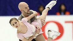 Patinaje artístico - NHK Trophy. Programa libre parejas