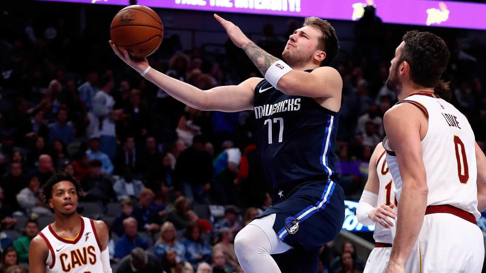 Doncic sigue deslumbrando en la NBA