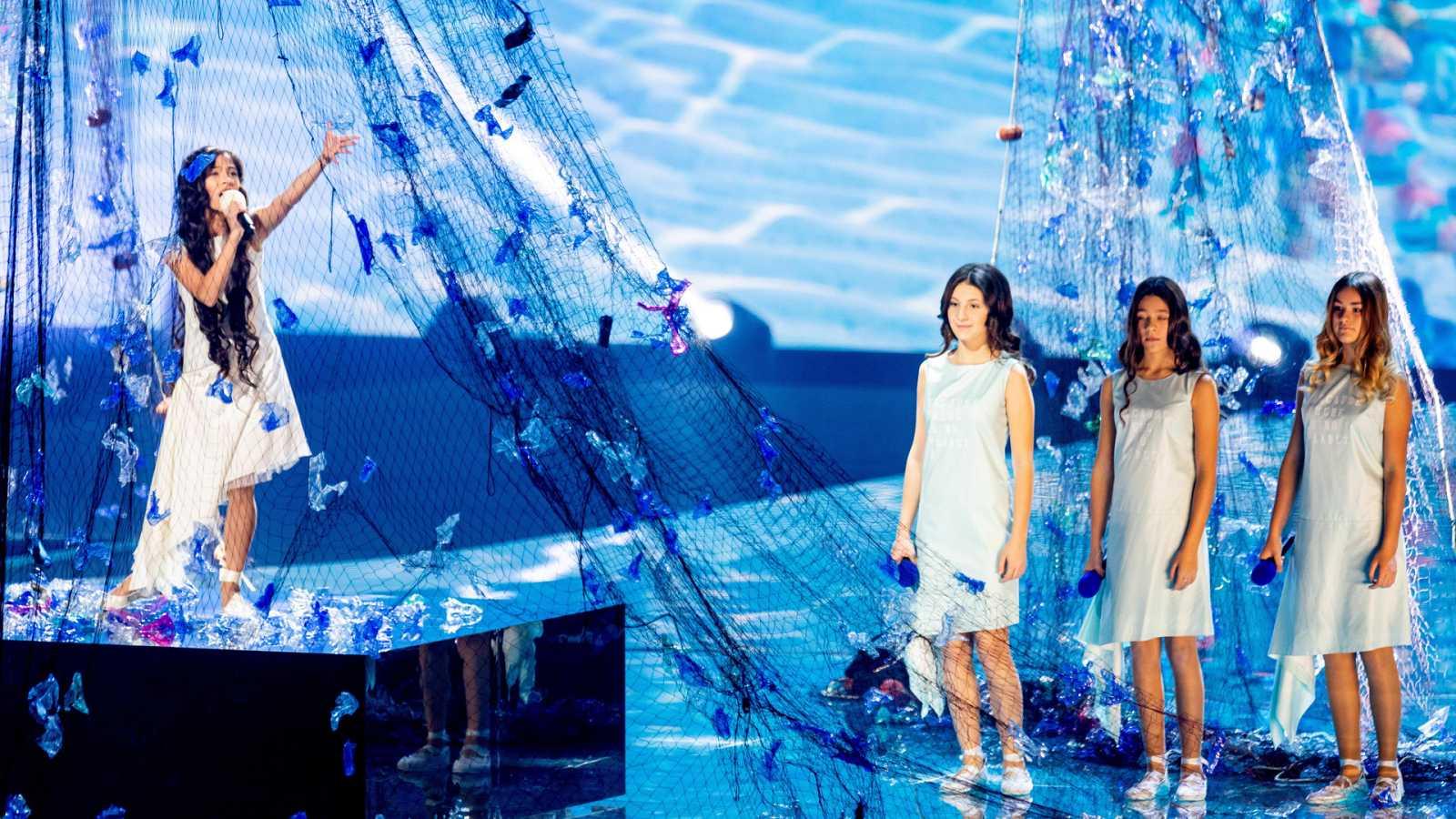 Eurovisión Junior 2019 - Actuación de Melani en el ensayo de jurados (Jury Rehearsal)