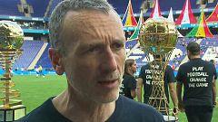Medina en TVE - El deporte como medio de diálogo: Danone Cup 2019