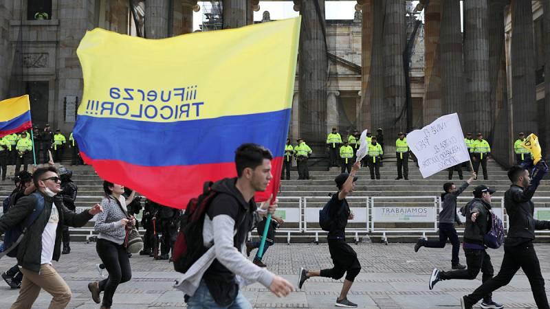 Continúan las protestas en Colombia a la espera de que Iván Duque inicie el diálogo