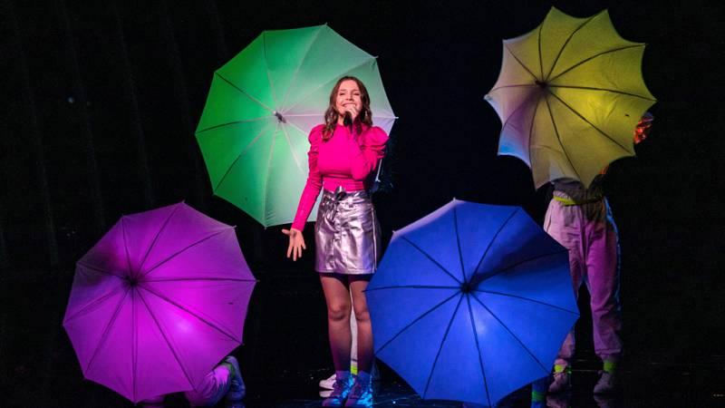 """Eurovisión Junior 2019 Carla de Francia canta """"Bim bam toi"""""""