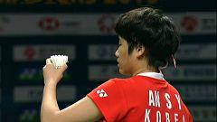 Bádminton - Open de Corea. Final individual femenina: An Se-Young - Sung Ji-Hyun