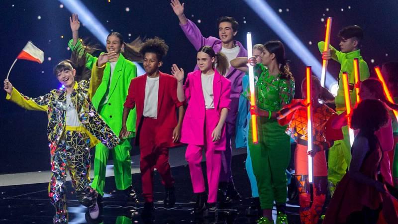 Eurovisión Junior 2019 - Así ha sido la ceremonia de apertura en el Gliwice Arena