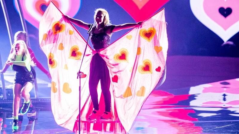 """Eurovisión Junior 2019 - Erin Mai de Gales canta """"Calon yn Curo"""""""