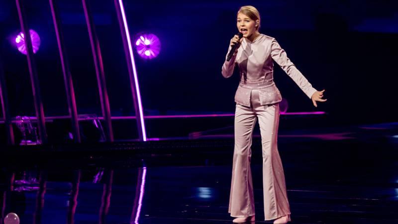 """Eurovisión Junior 2019 - Sofia Ivanko de Ucrania canta """"Koli Zdaetsya"""""""