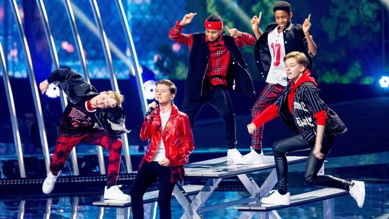 """Eurovisión Junior 2019 - Matheu de Países Bajos canta """"Dans met jou"""""""