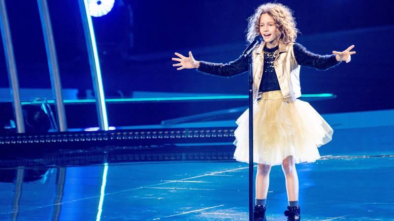 """Eurovisión Junior 2019 - Marta Viola canta por Italia """"La voce della terra"""""""
