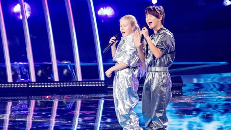 Eurovisión Junior 2019 - Tatyana Mezhentseva y Denberel Oorzhak de Rusia cantan 'A time for us'