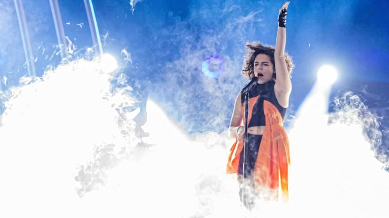 """Eurovisión Junior 2019 - Mila Moskov representa a Macedonia del Norte cantando """"Fire"""""""