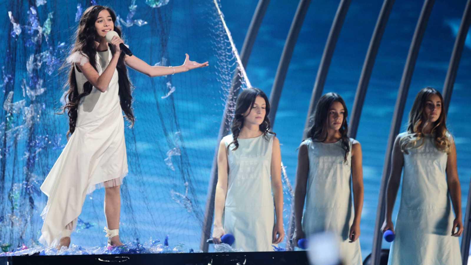 """Eurovisión Junior 2019 - Melani canta """"Marte"""" por España en la Gala Final"""