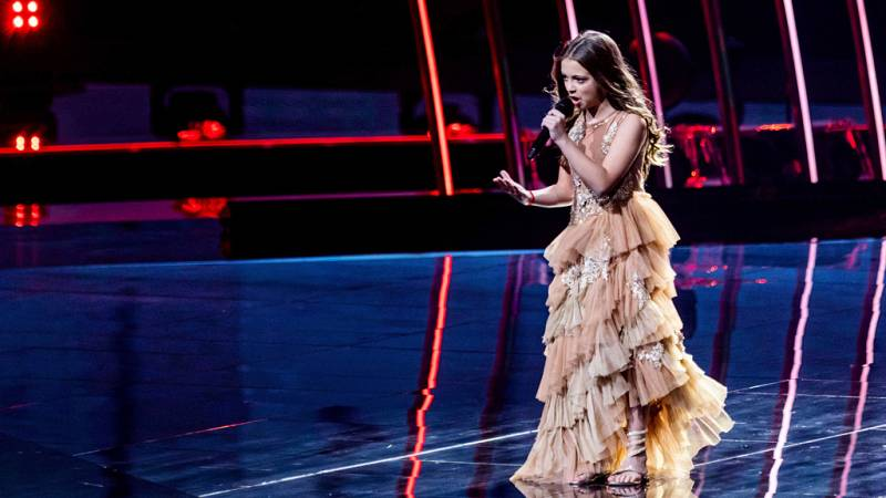 """Eurovisión Junior 2019 - Darija Vracevic de Serbia canta """"Podigni Glas"""""""